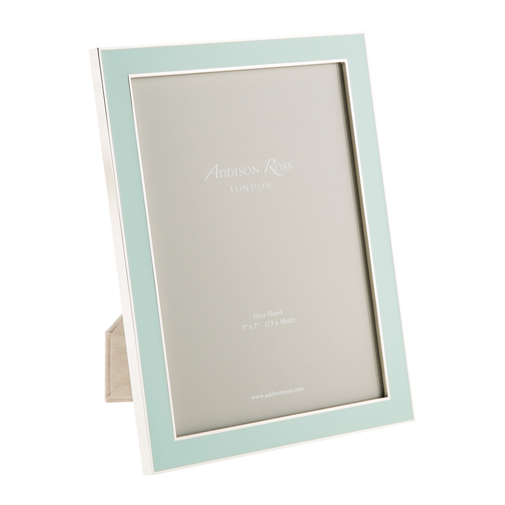 Buy Addison Ross Light Blue Enamel Photo Frame | Amara