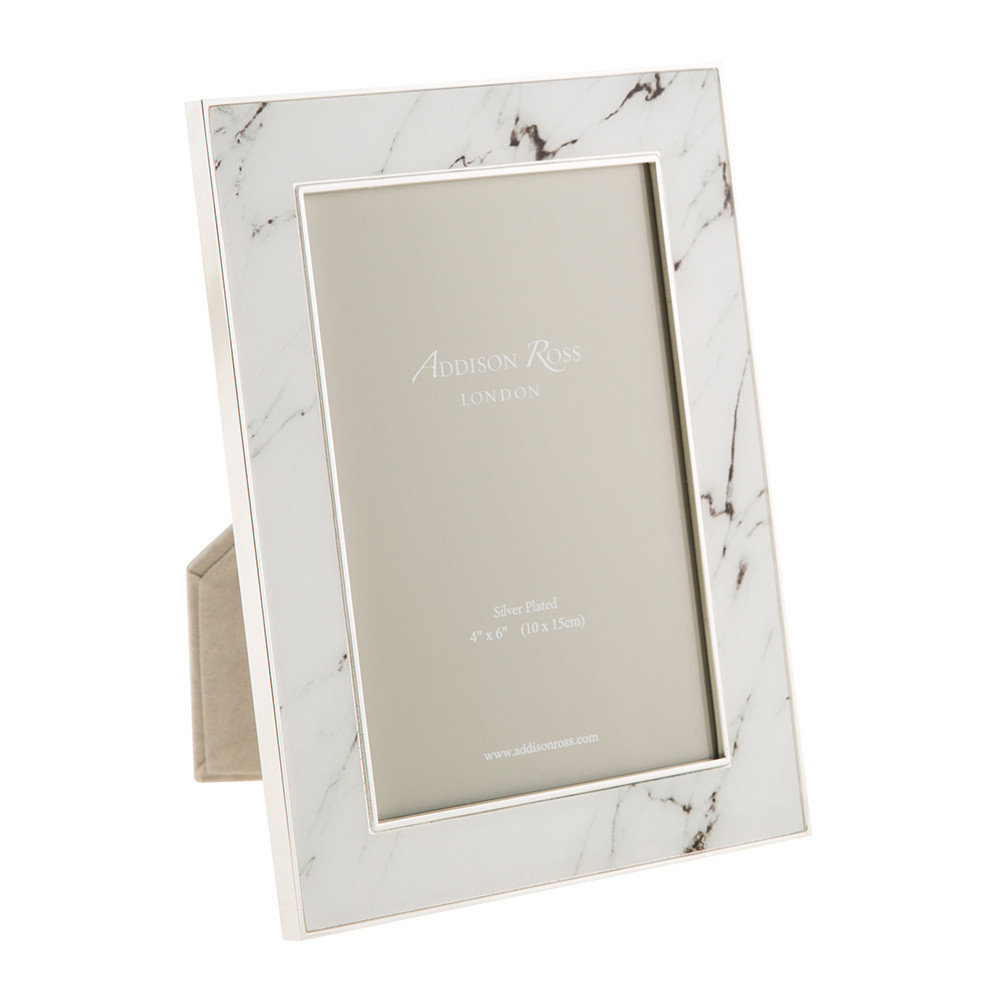 Buy Addison Ross White Marble Photo Frame - 4x6\