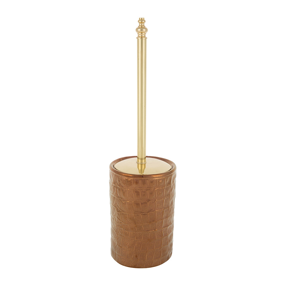 Villari - Alligator Toilet Brush - Bronze