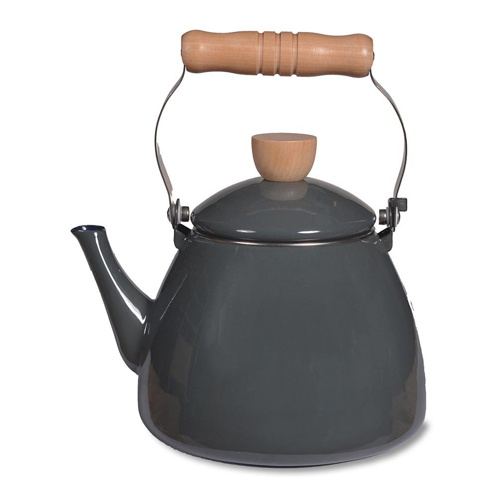 kettles  kitchen appliances tea  coffee  amara - enamel stove kettle  charcoal