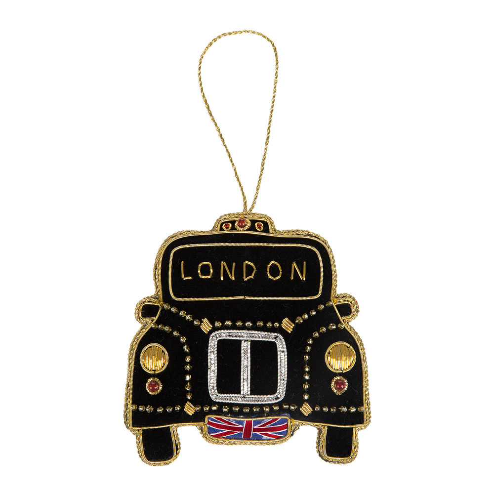 Buy Tinker Tailor London Taxi Christmas Tree Decoration