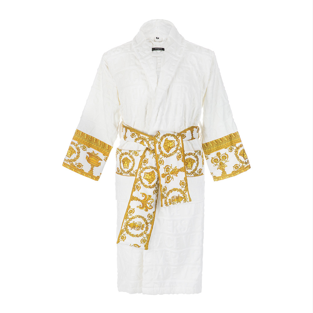 Men's Robes The equivalent of a favorite coat, a men's Derek Rose robe is an investment made to last. Available in a variety of weights - wools and cashmeres keep out the cold; cottons are a cooler way to cover up; and silks offer pure, refined luxury.