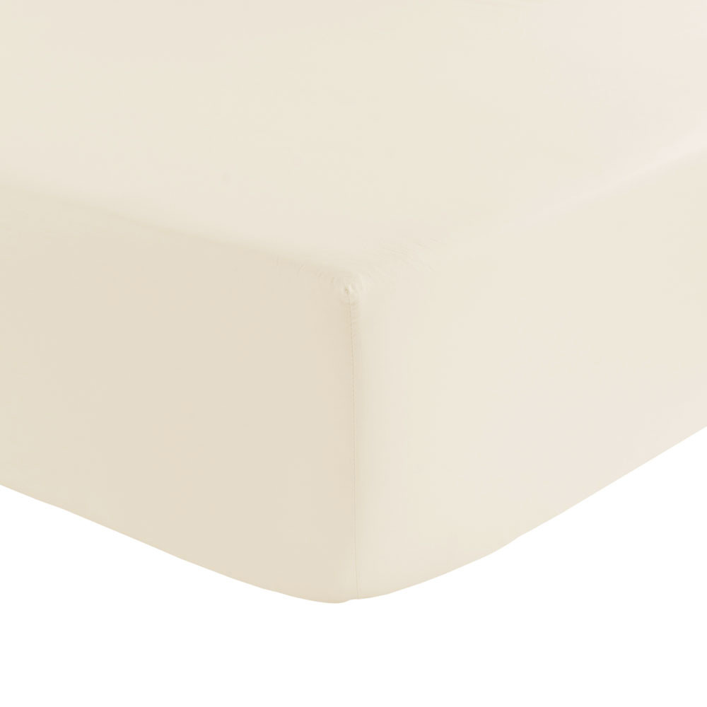 Olivier Desforges  Alcove Fitted Sheet  Ivory  Double