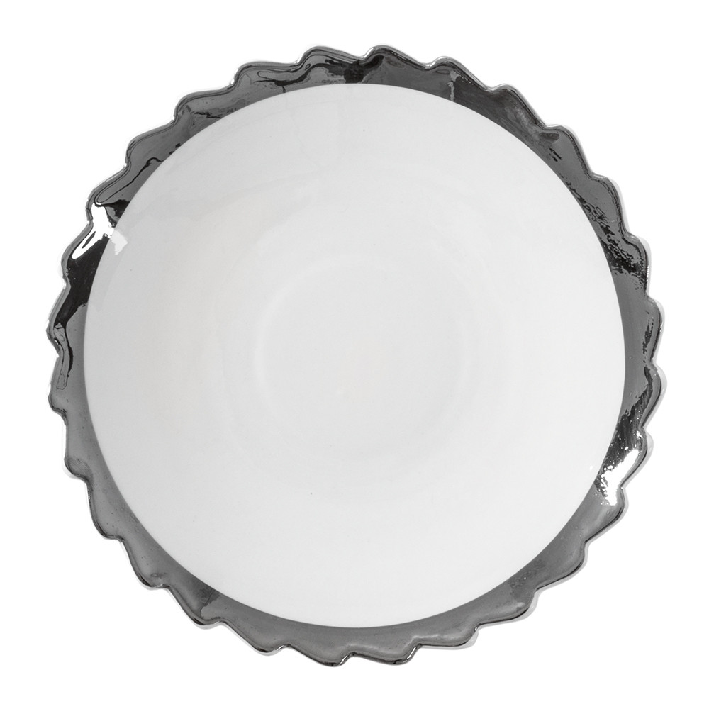 Diesel Living with Seletti - Machine Collection Dessert Plate - Design 2 Silver