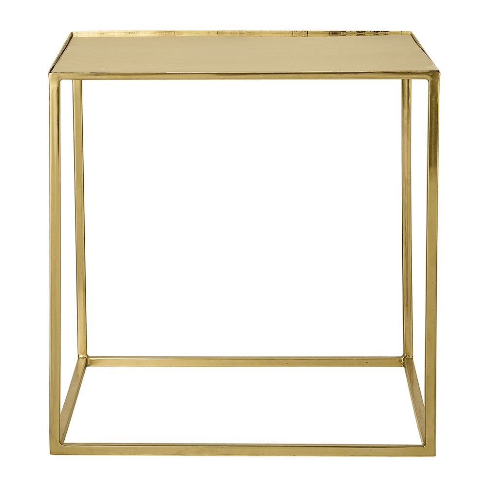 Bloomingville - Cube Side Table - Gold