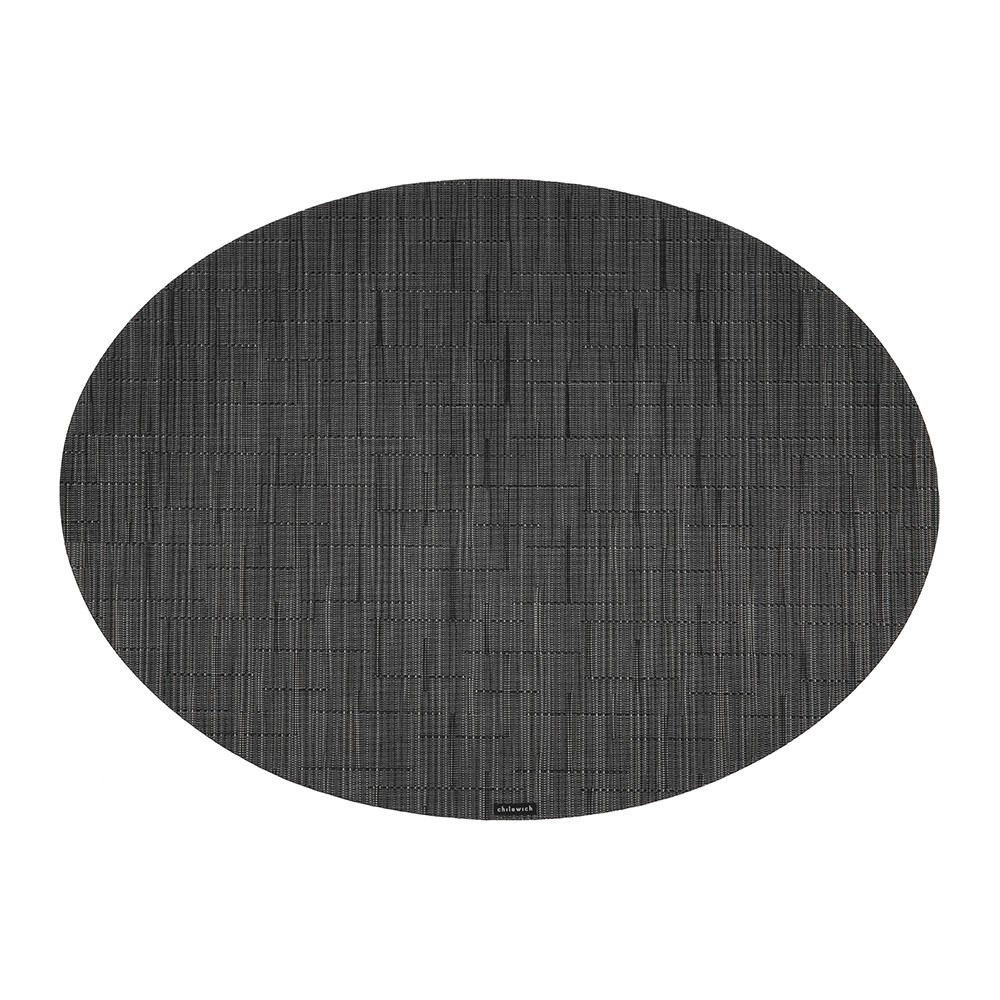 Chilewich - Bamboo Oval Placemat - Smoke