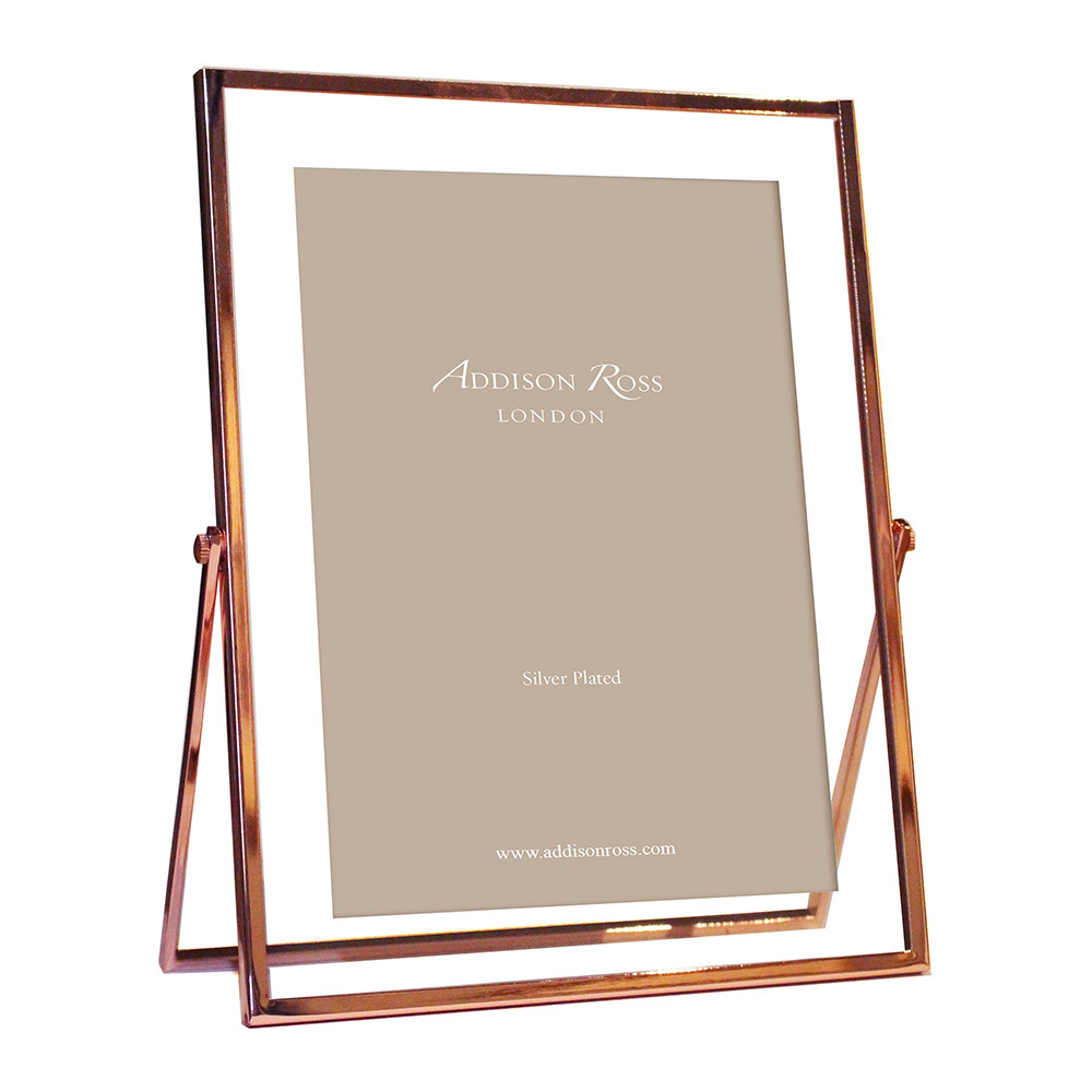 Buy Addison Ross Rose Gold & Glass Photo Frame | Amara