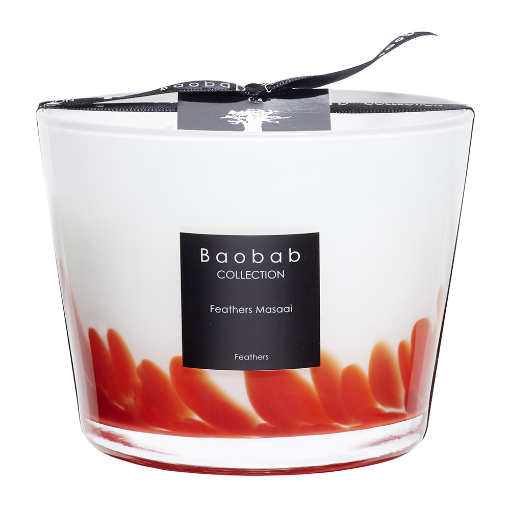Baobab Collection - Feathers Masaai Scented Candle - 10cm
