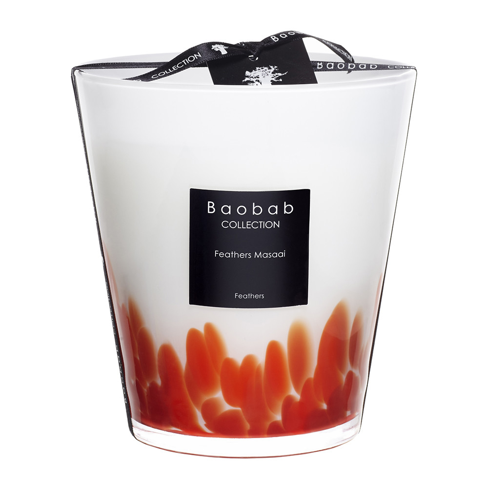 baobab collection feathers masaai scented candle gay times uk. Black Bedroom Furniture Sets. Home Design Ideas