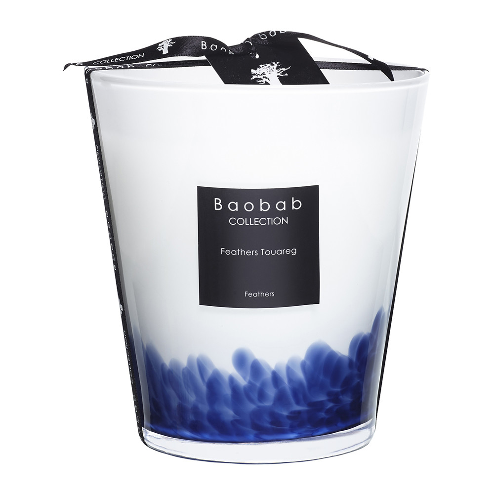 Baobab Collection - Feathers Touareg Scented Candle - 16cm