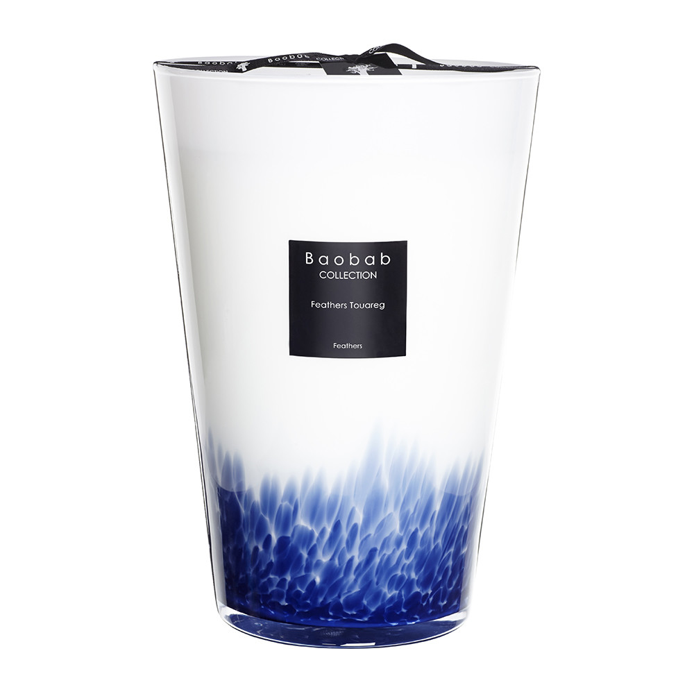 Baobab Collection - Feathers Touareg Scented Candle - 35cm