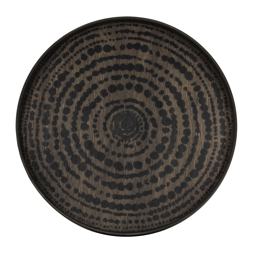 Ethnicraft - Black Beads Driftwood Tray - Small