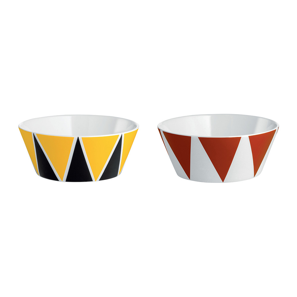 Alessi - Circus Small Bowl - Set of 2 - Triangle