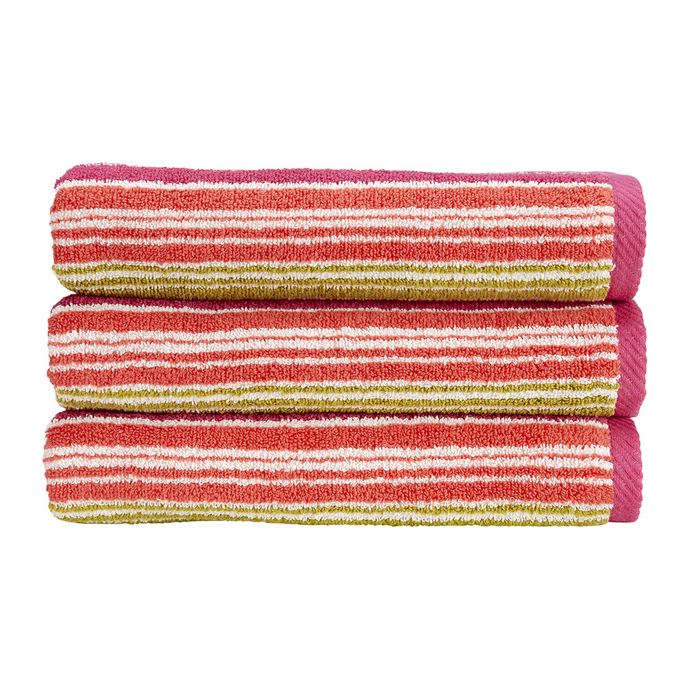 Christy - Bamford Stripe Towel - Bright - Bath Sheet
