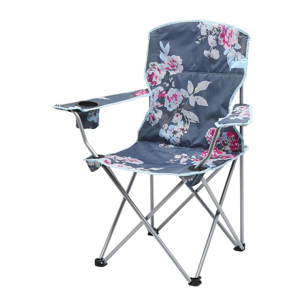 Buy Joules Folding Picnic Chair Grey Floral