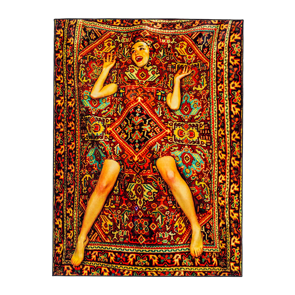 Seletti wears Toiletpaper - Lady in Carpet Rug - Lady in Carpet