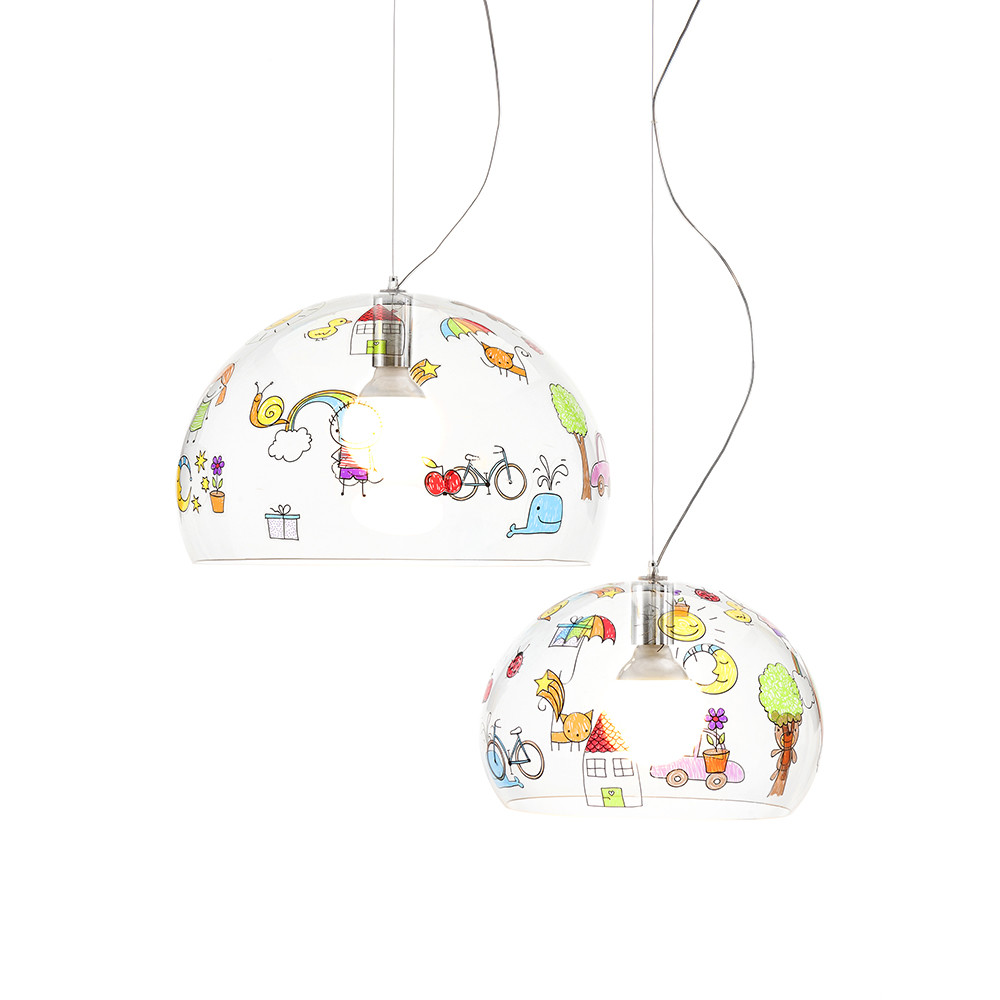 Kartell - Children's FL/Y Ceiling Light - Sketch - Mini