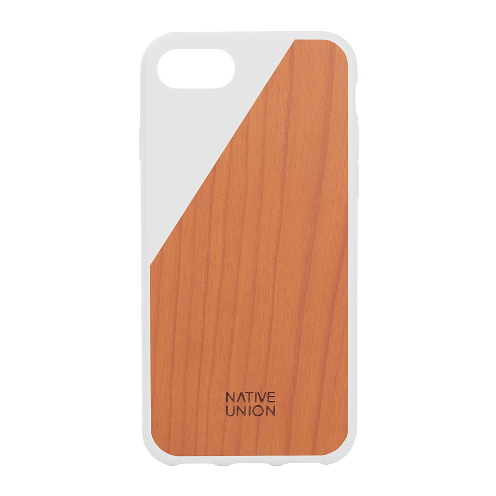 Native Union - Clic Wooden iPhone 7 Case - White
