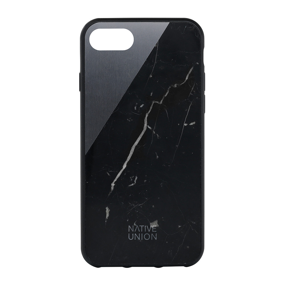 Native Union - Clic Marble iPhone 7 Case - Black