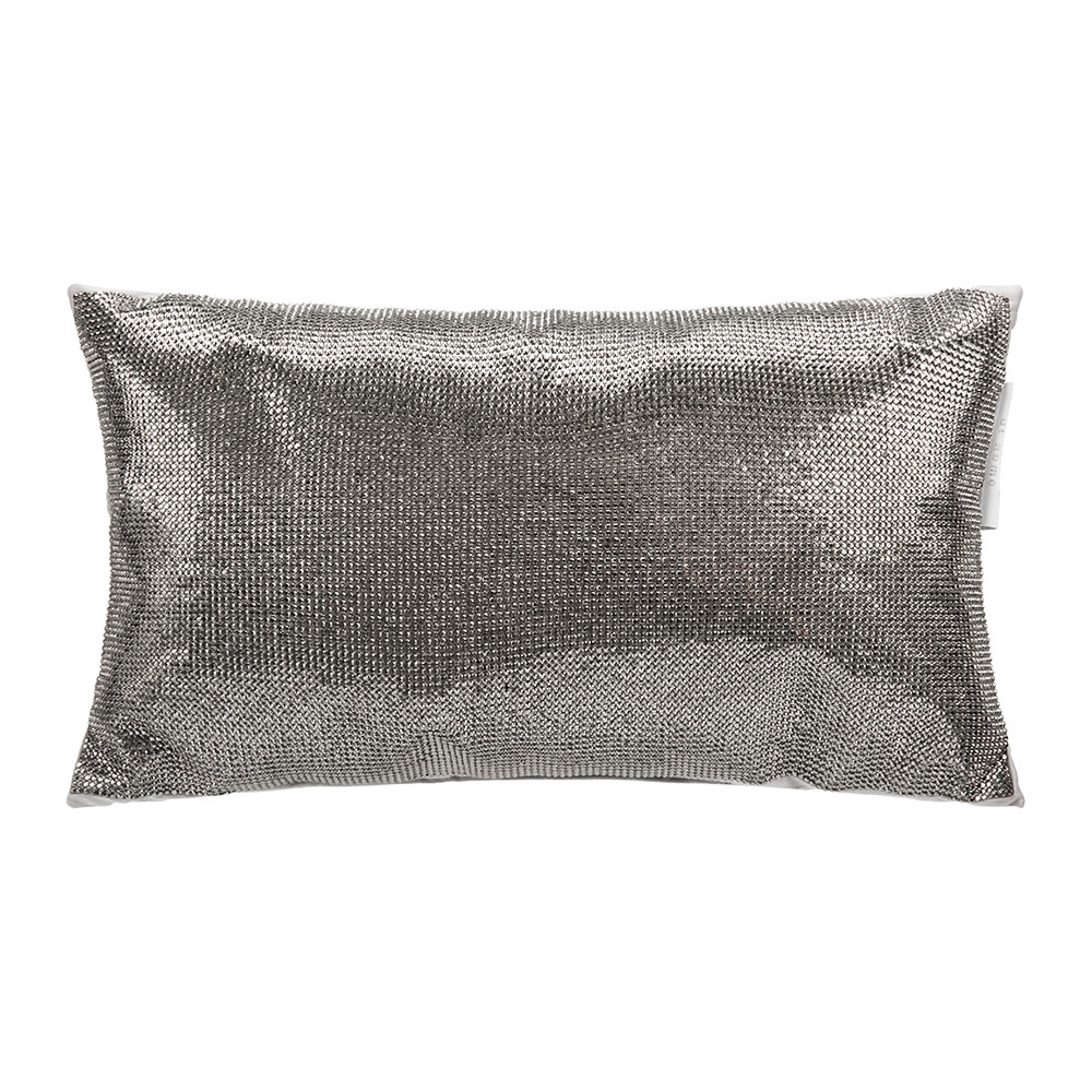 Kylie Minogue at Home - Aurora Bed Cushion - 18x32cm - Pewter
