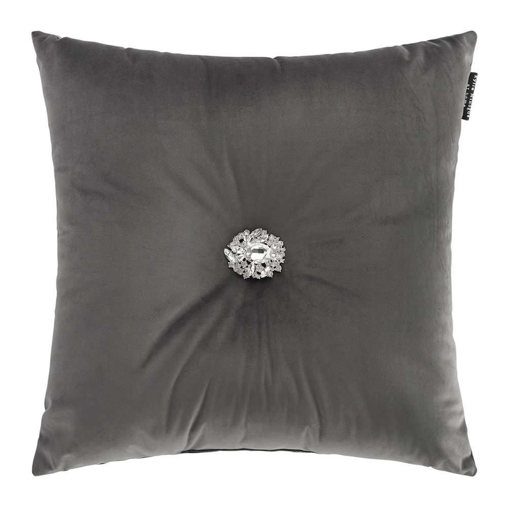 Kylie Minogue at Home  Narissa Bed Pillow  50x50cm  Slate