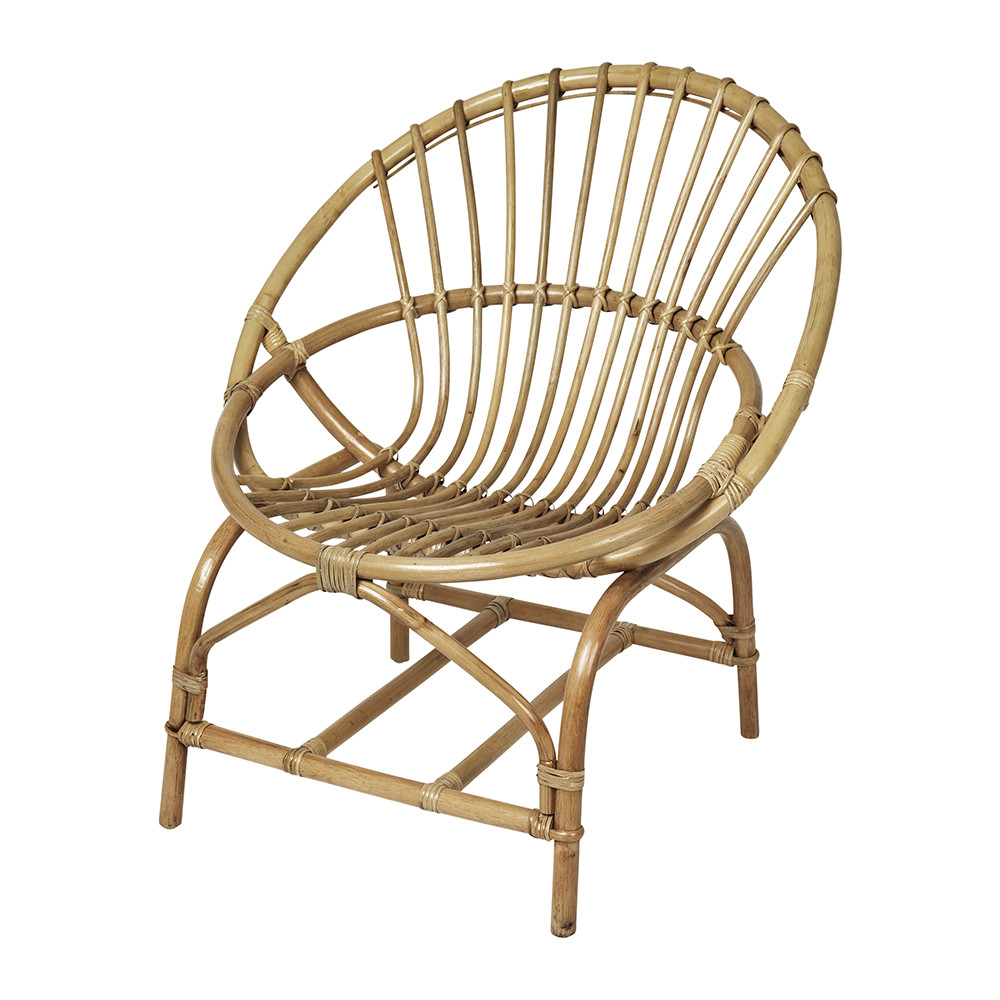 Buy Broste Copenhagen Frida Rattan Chair Amara