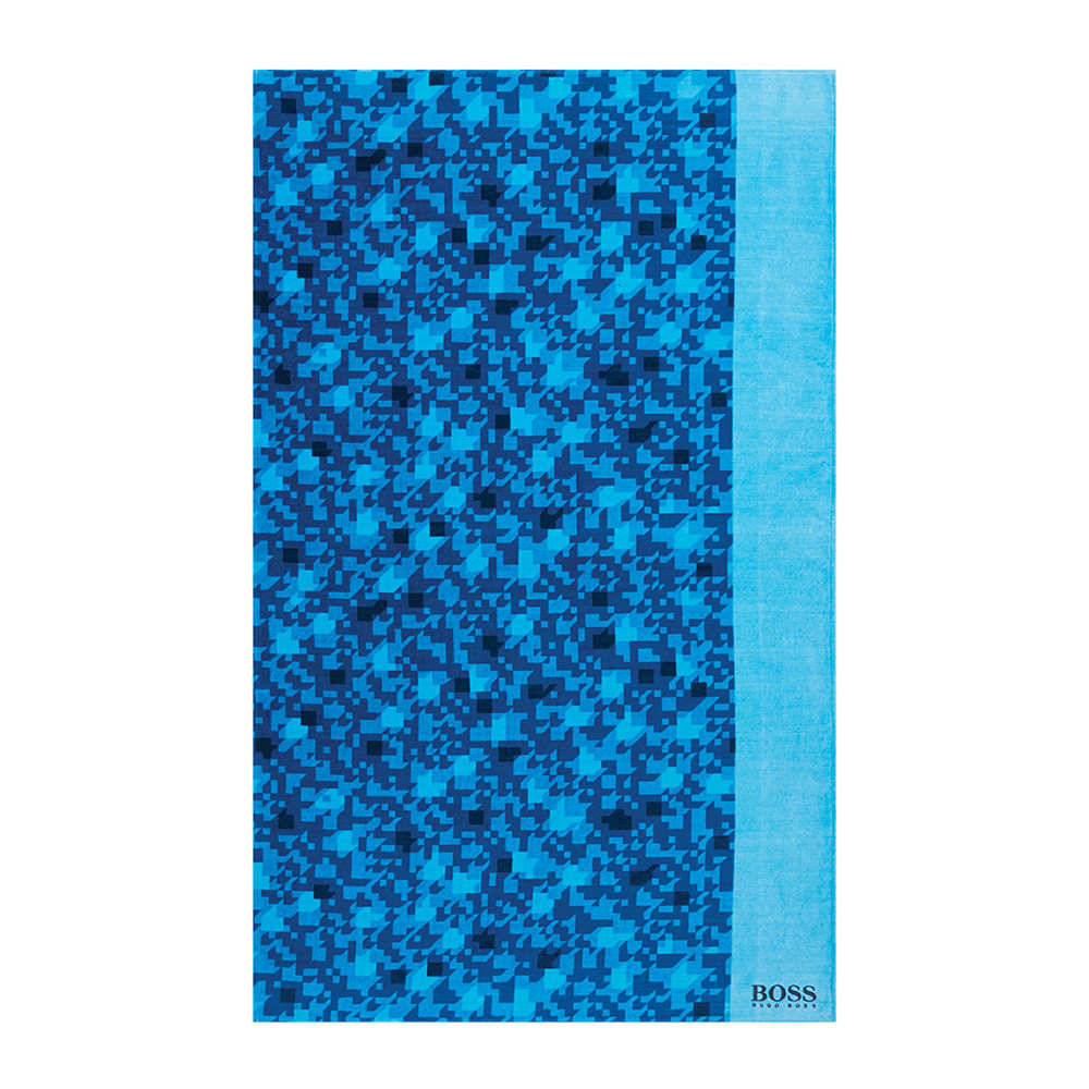 Hugo Boss - Gleam Beach Towel - Ocean