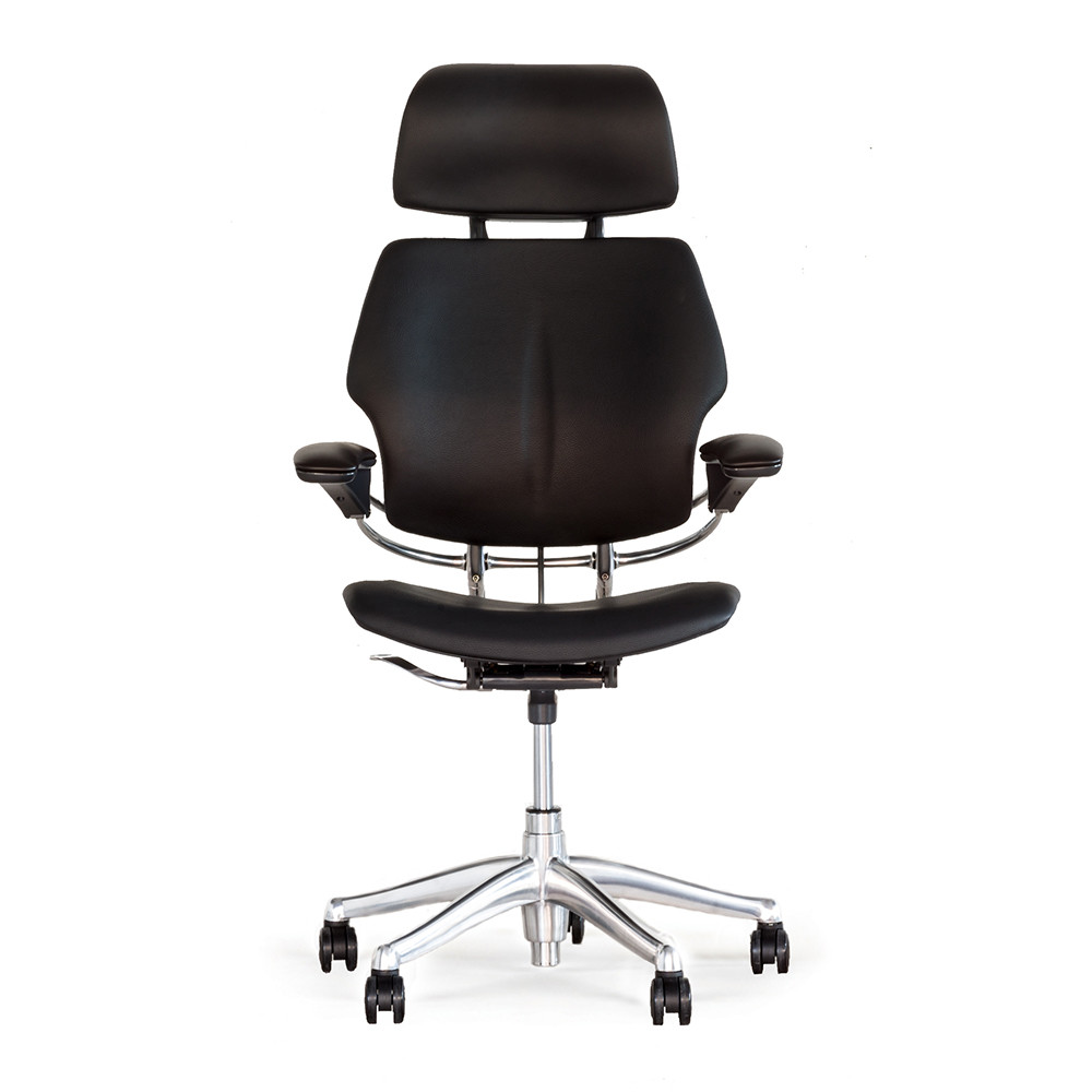 buy humanscale freedom headrest office chair black. Black Bedroom Furniture Sets. Home Design Ideas