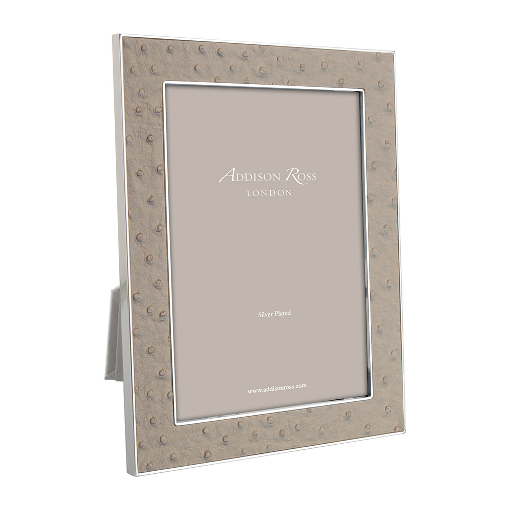 Addison Ross  Shadow Faux Ostrich Photo Frame  5x7