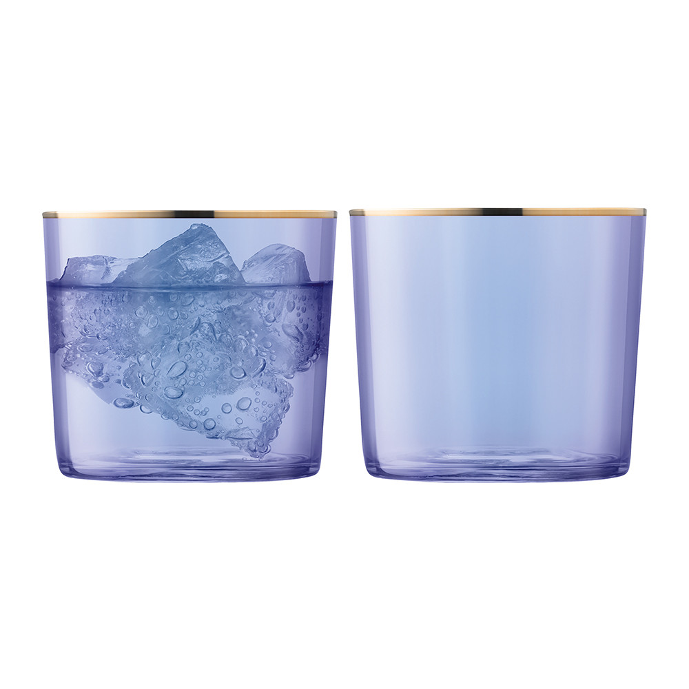 LSA International - Sorbet Tumbler - Set of 2 - Blueberry