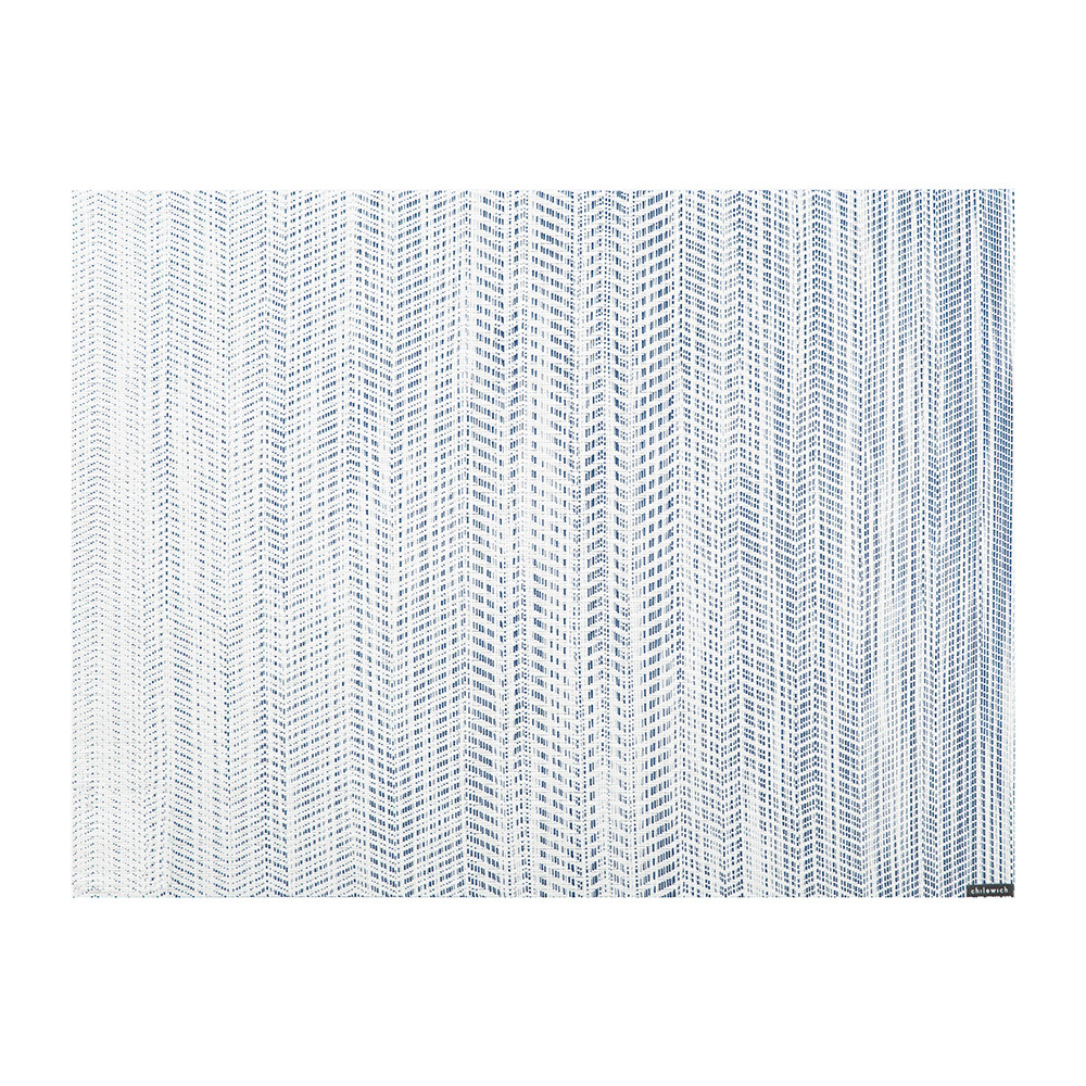 Buy Chilewich Wave Rectangle Placemat - Blue   Amara