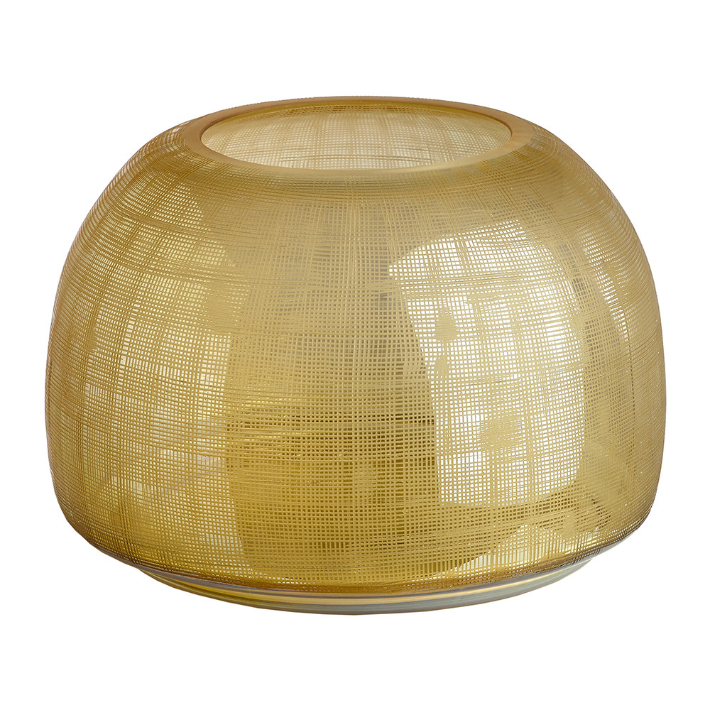 Pols Potten - Checkered Amber Vase
