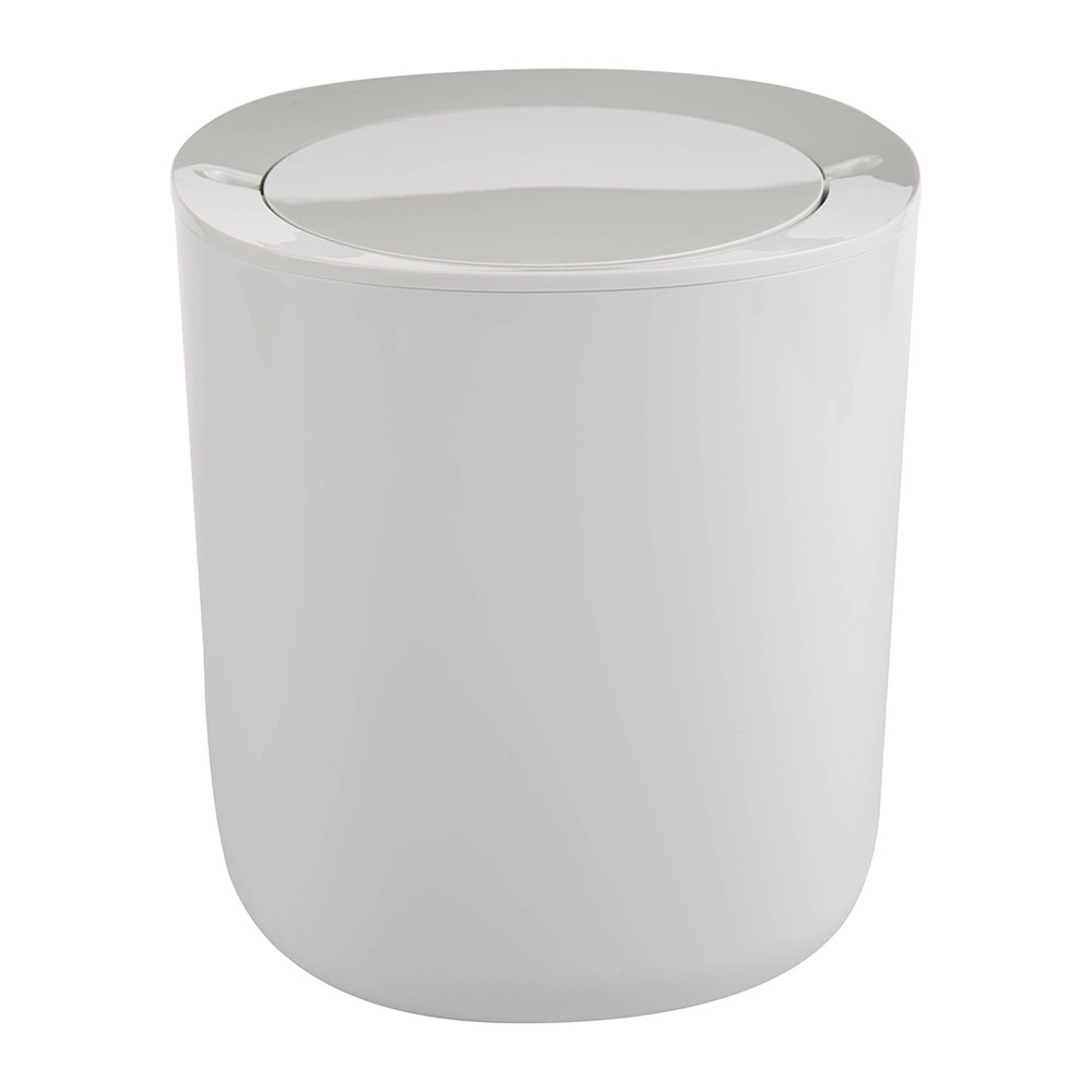 Alessi - Birillo Bathroom Waste Bin - White