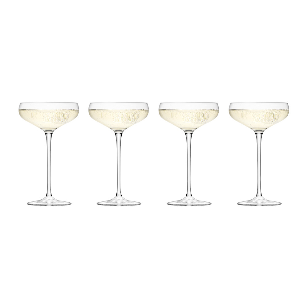 LSA International - Wine Champagne Saucers - Set of 4