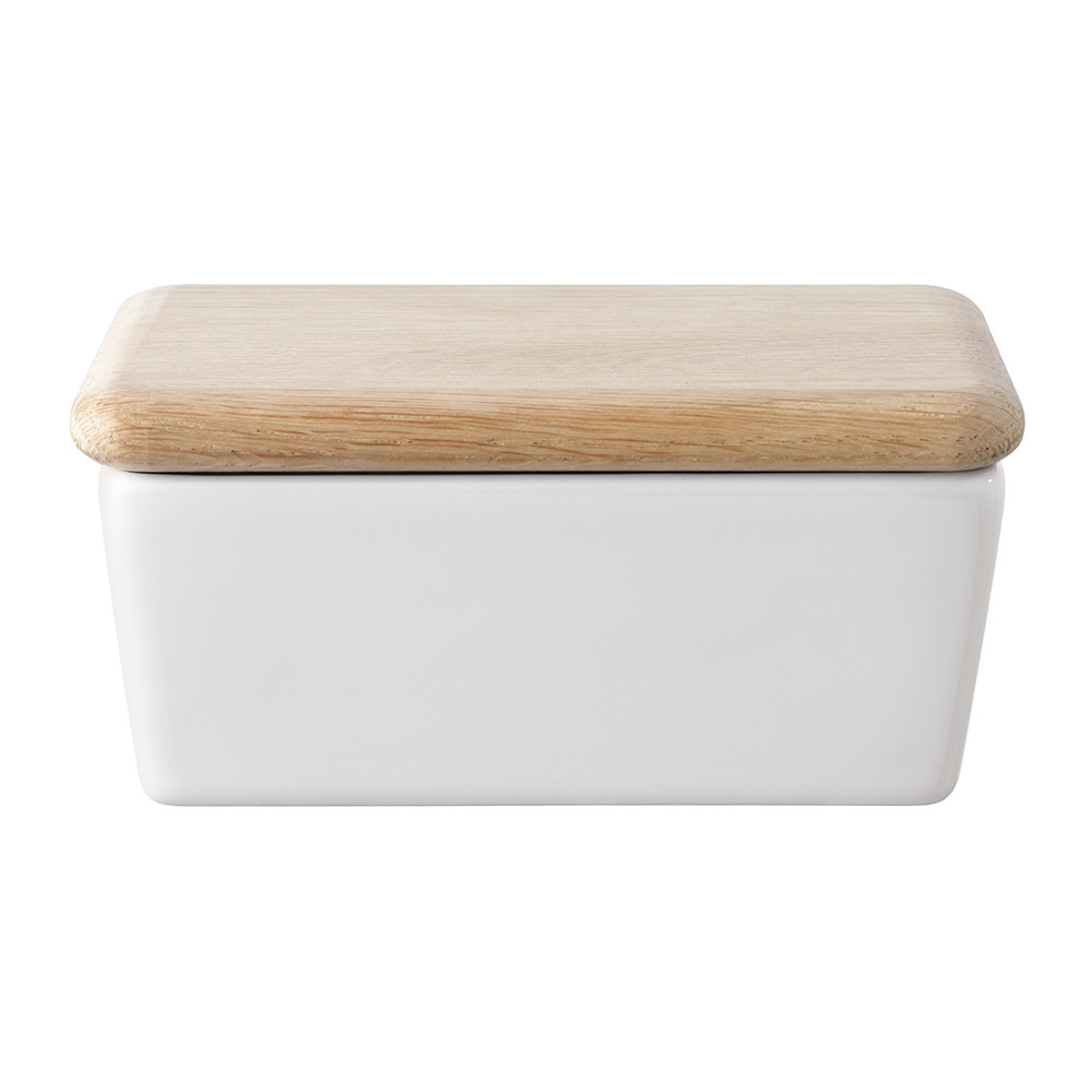 LSA International - Dine Butter Dish & Oak Lid