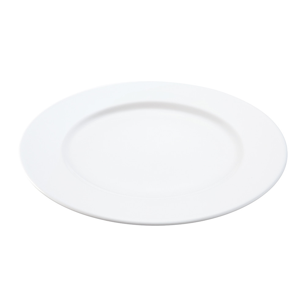 LSA International - Dine Rimmed Starter/Dessert Plates - Set of 4 - 20cm
