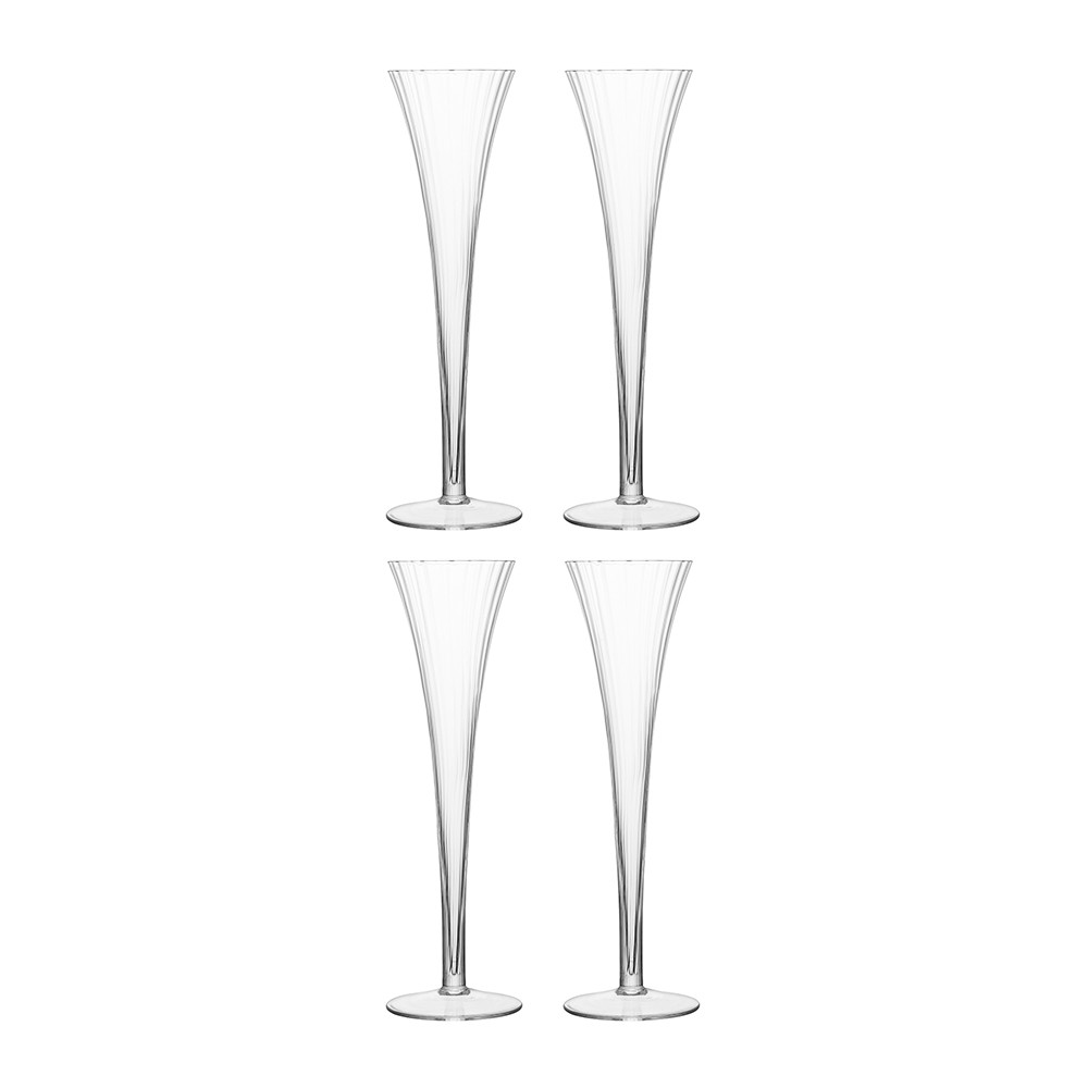LSA International - Aurelia Champagne Flutes - Set of 4