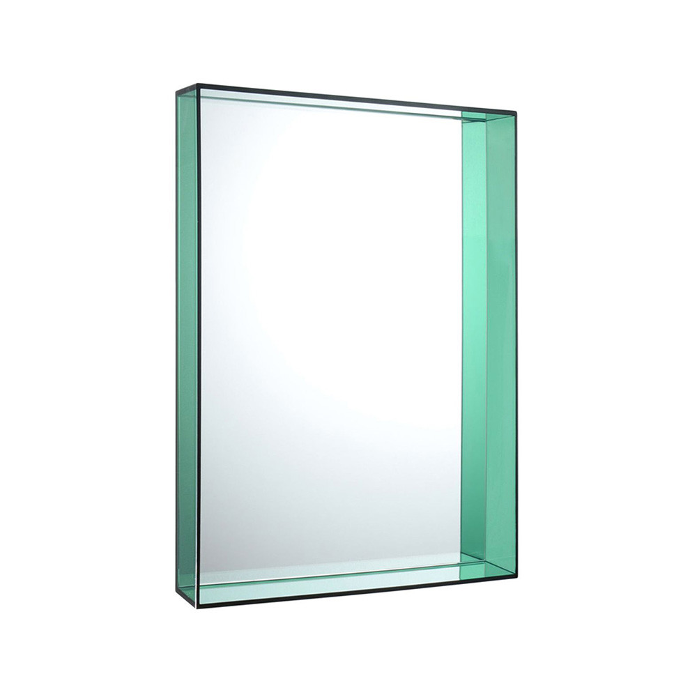 Kartell only me mirror green 50x70cm gay times uk for Mirror 50 x 70