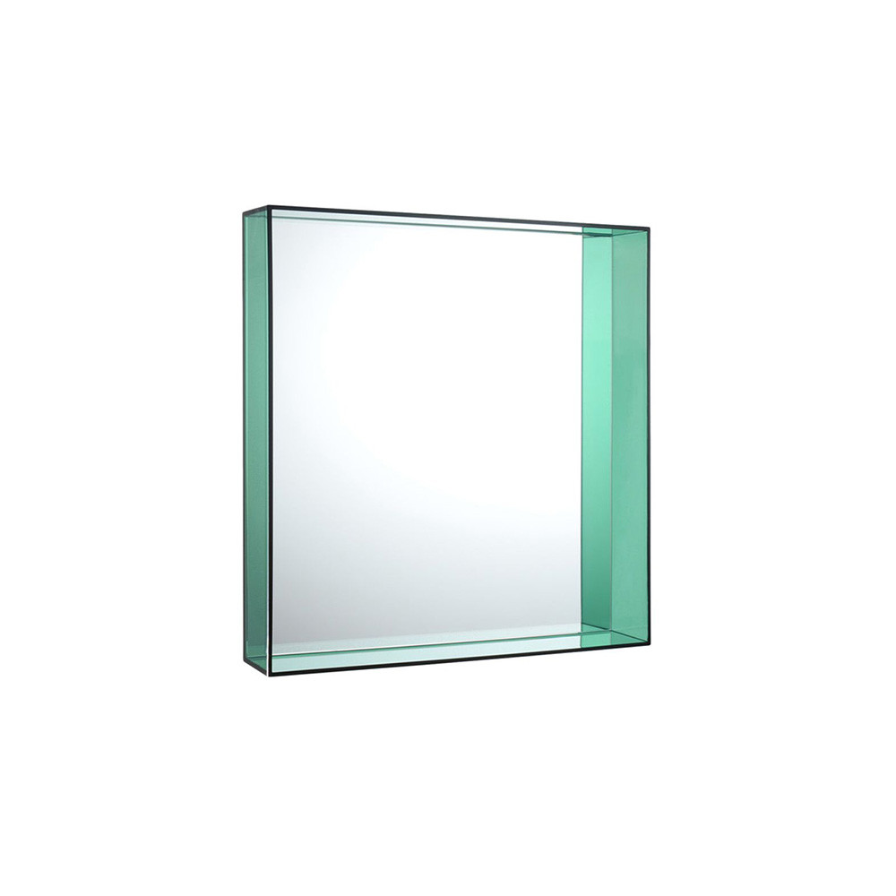 Kartell only me mirror green 50x50cm gay times uk for Miroir 50x50