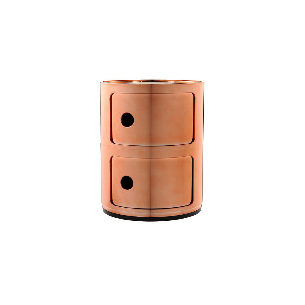 Kartell  Componibili Storage Unit  Copper  Small