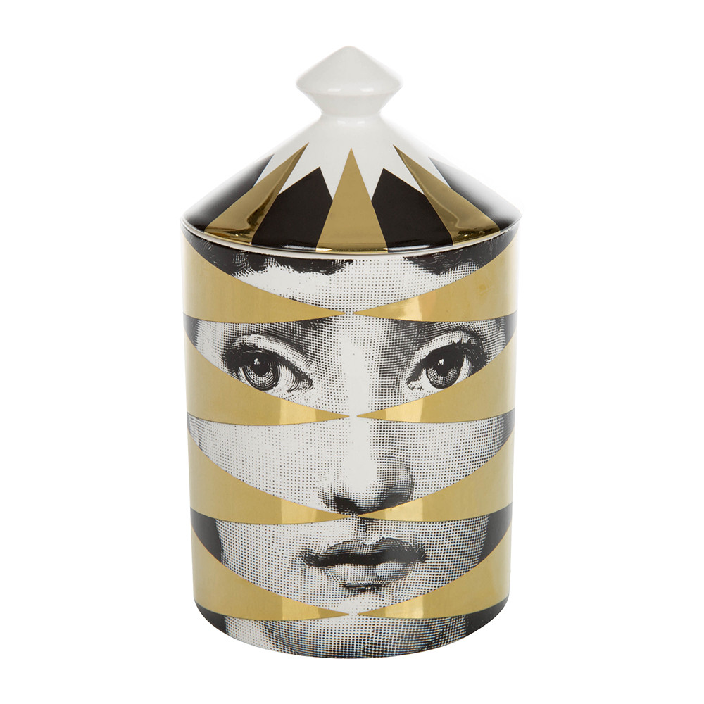 Buy Fornasetti Losanghe Scented Candle Gold 300g Amara