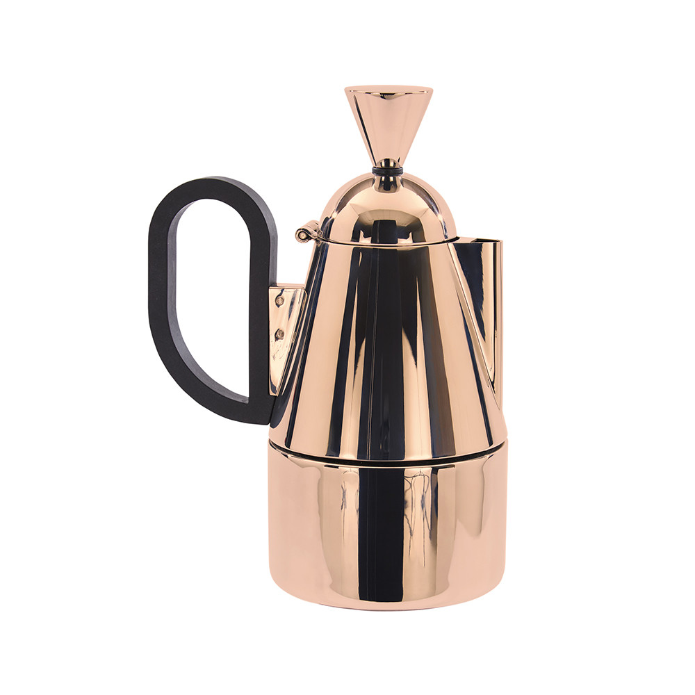Buy tom dixon brew stove top coffee maker copper amara for Best coffee percolator