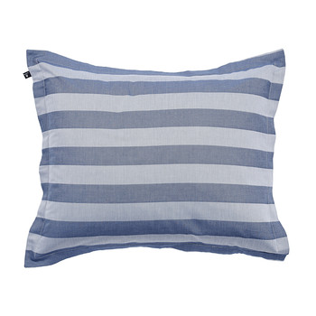 Rig Stripe Pillowcase - Mid Blue