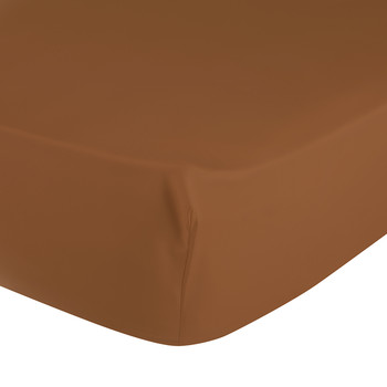 Triomphe Caramel Fitted Sheet