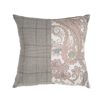 Mix Material Pillow - 45x45cm - Gambia 800