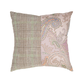 Mix Material Pillow - 45x45cm - Kenya 650