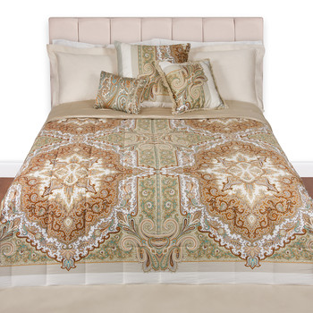 Pereira Quilted Panel Bedspread - 801