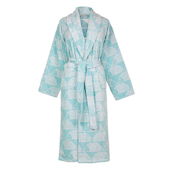 Spike Bathrobe - Aqua