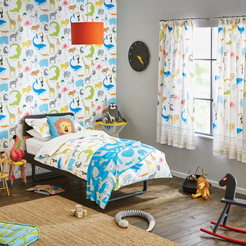 Animal Magic Kids Duvet Cover Set - Single