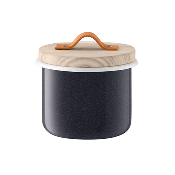 Utility Container & Ash Lid - Pepper Black - 14cm